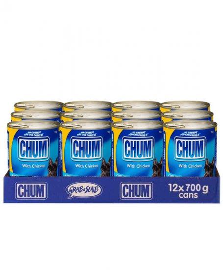 Chum Chicken Cans 12 X 700gm