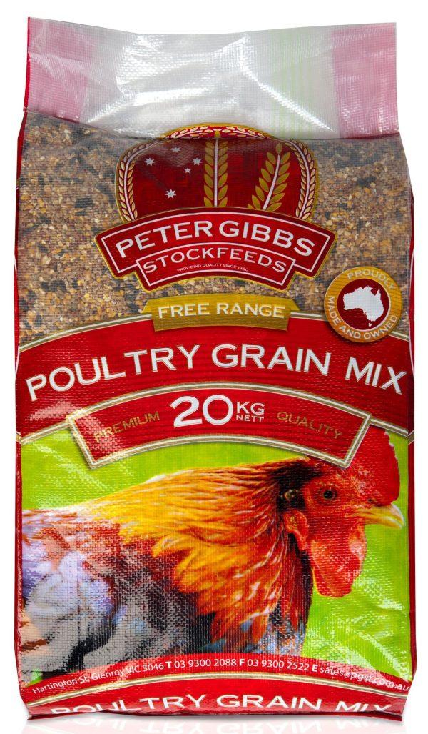 Poultry Grain Mix Gibbs 20kg