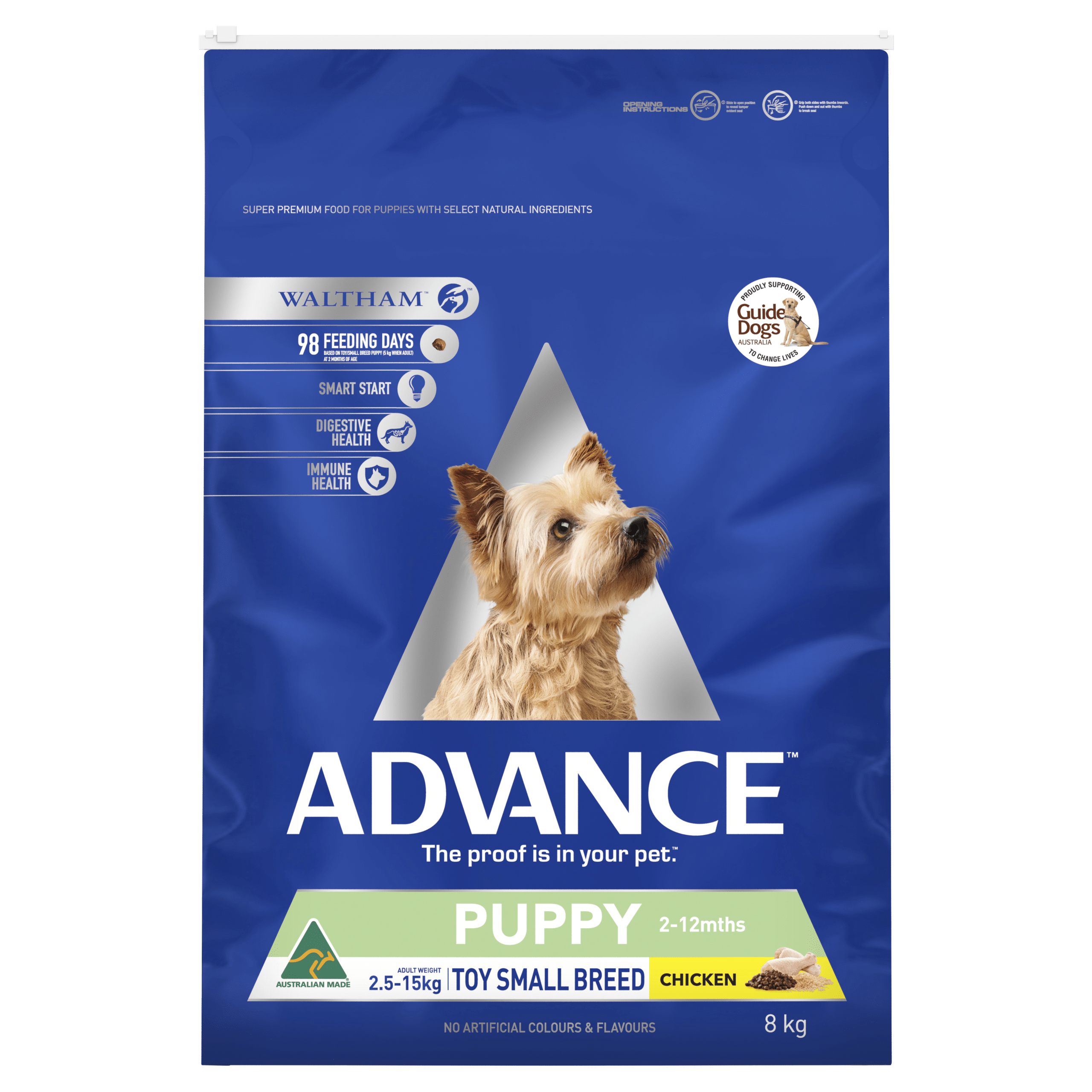 Advance Puppy Plus Toy Small Breed Chicken 8kg