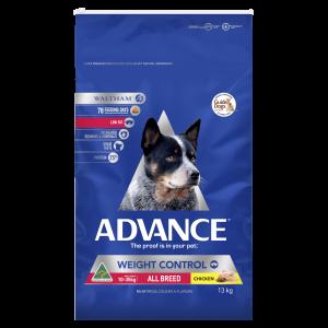 Advance Adult Dog Weight Control Chicken 13kg