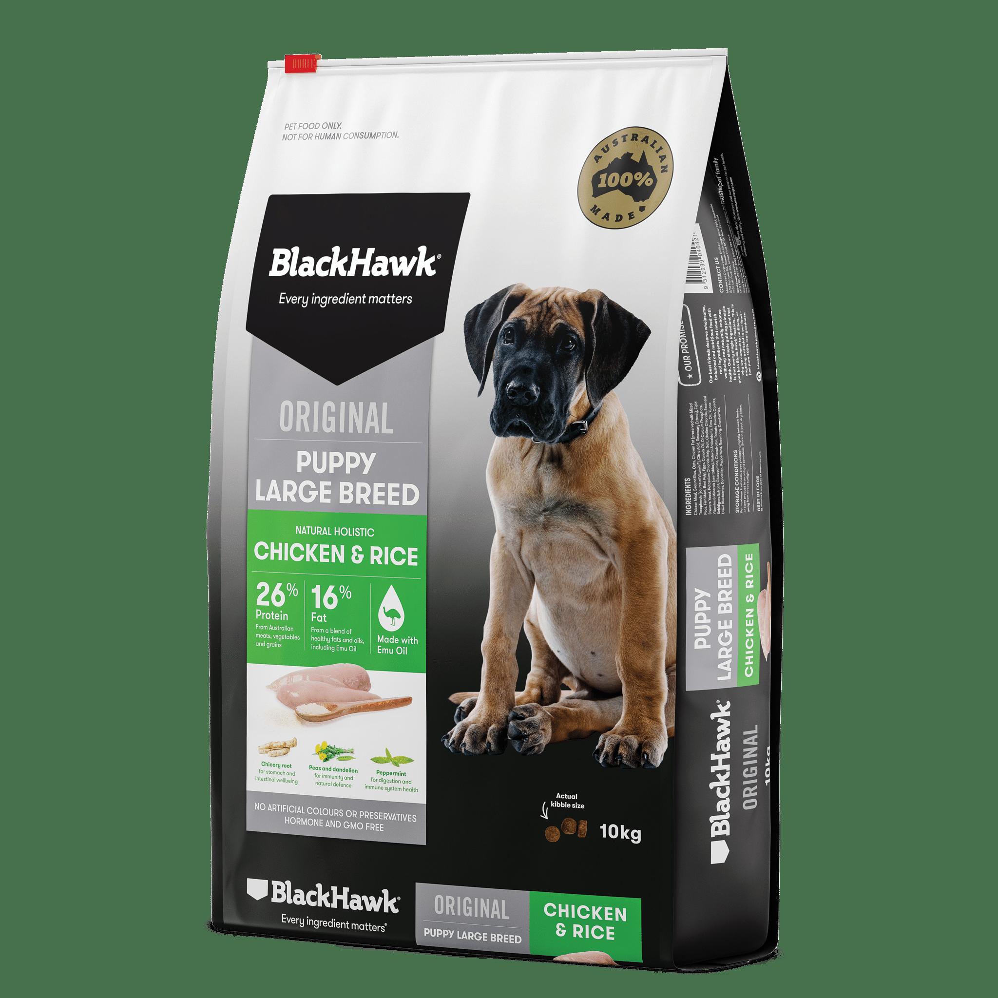 Black Hawk Puppy Large Breed 10kg