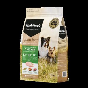 Black Hawk Grain Free Chicken 2.5kg