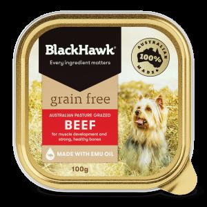 Black Hawk Grain Free Beef 100gm