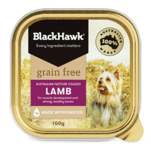 Black Hawk Grain Free Lamb 100gm