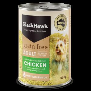 Black Hawk Grain Free Chicken 400gm