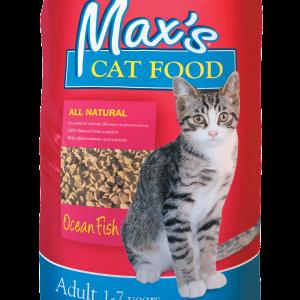 Maxs Cat Food Ocean Fish 8kg