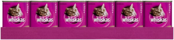 Whiskas Cans 24 X 400gm Rural Pack
